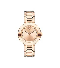 Movado® BOLD Women's Swiss Rose Goldtone Bracelet Watch