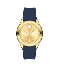 Movado® BOLD Women's Swiss Navy Silicone Strap Watch