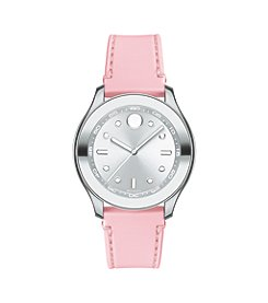 Movado® BOLD Women's Swiss Blush Silicone Strap Watch