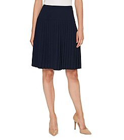 Tommy Hilfiger® Mid Pleated Skirt