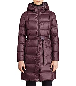 Lauren Ralph Lauren® Belted Packable Down Coat