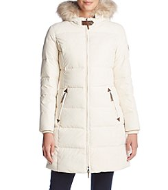 Lauren Ralph Lauren® Faux Fur Trimed Hood Coat