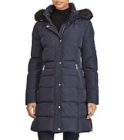 Lauren Ralph Lauren® Heavy Down Coat with Waist Detail