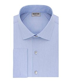REACTION Kenneth Cole Men's Techni-Cole™ Stretch Slim Fit Spread Collar Solid Dress Shirt