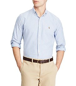 Polo Ralph Lauren® Men's Standard Fit Multi-Striped Oxford Shirt