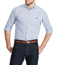 Polo Ralph Lauren® Men's Standard Fit Checked Oxford Shirt