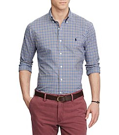 Polo Ralph Lauren® Slim Fit Plaid Shirt