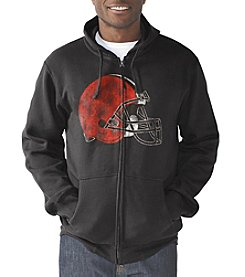 G III NFL® Cleveland Browns Men's Post Season Full Zip Hoodie