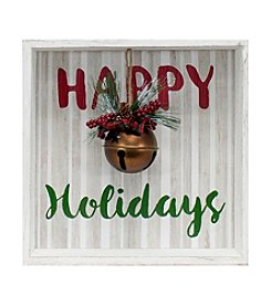 Living Quarters Holiday Bell Box Decor