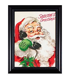 Living Quarters Vintage Santa Call Wall Art