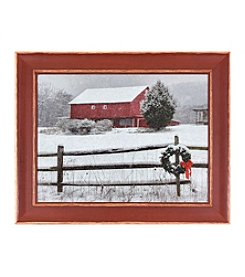 Living Quarters Big Barn Framed Wall Art