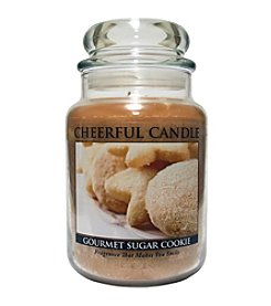 Cheerful Candle 24-oz. Gourmet Sugar Cookie Candle