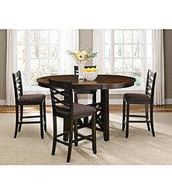 Liberty Furniture 5-Piece Bistro Gathering Height Dining Set