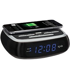 Sxe Wireless Charging Alarm Clock