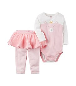 Carter's Baby Girls' 2 Piece Bear Bodysuit & Tutu Pants Set