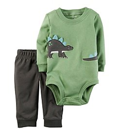Carter's Baby Boys' 2 Piece Dino Bodysuit Pants Set