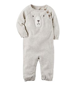 Carter's Baby Boys' Bear Sweater Jumpsuit