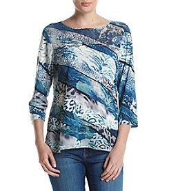 Alfred Dunner® Animal Print Top