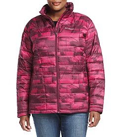 Columbia Plus Size Pacific Post™ Printed Jacket