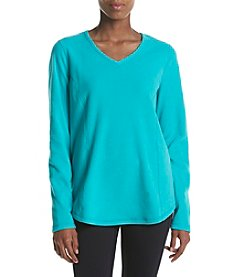 Exertek® Micro Fleece V-Neck Sweater