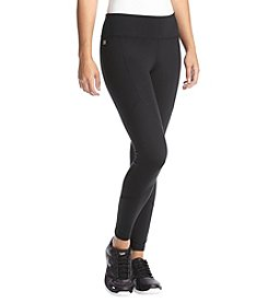 Ivanka Trump® Athleisure Lace Detail Crop Leggings