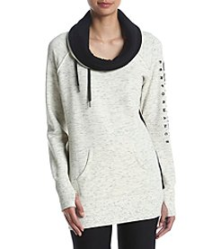 Calvin Klein Performance Cowl Neck Logo Sweatshirt