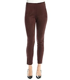 Ivanka Trump® Faux Suede Pants