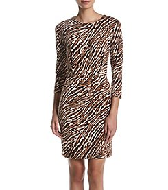 MICHAEL Michael Kors® Safari Pleated Front Dress