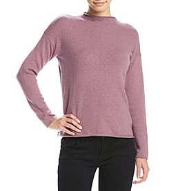 Kensie® Mock Neck Knit Sweater