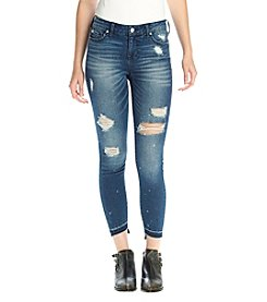 Celebrity Pink Destructed Denim Jeans