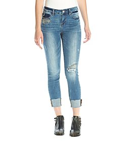 Hippie Laundry Destructed High Cuff Jeans