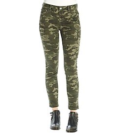 Hippie Laundry Destructed Camo Jeans