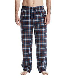 John Bartlett Statements Plaid Printed Knit Pants