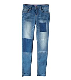 Lee® Girls' 7-16 High Waist Shadow Box Skinny Jeans