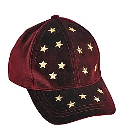 Cejon® Scattered Stars Velvet Baseball Hat
