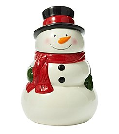 Living Quarters Snowman Cookie Jar
