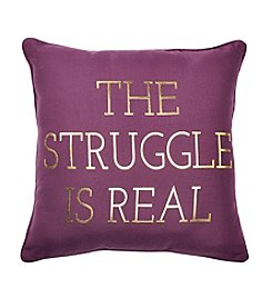 Sammy Struggle Is Real Decorative Pillow