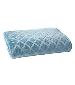 Living Quarters Luxe Embossed Blanket