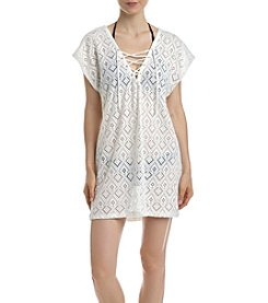 Miken® Lace Up Cover Up