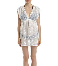 Miken® Crochet Empire Waist Cover Up