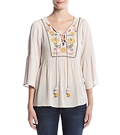 Penelope Rose™ Peasant Top