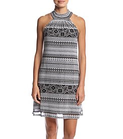 Cupio Printed Halter Dress