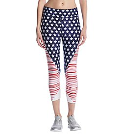 Tommy Hilfiger® Star & Stripes Cropped Active Leggings