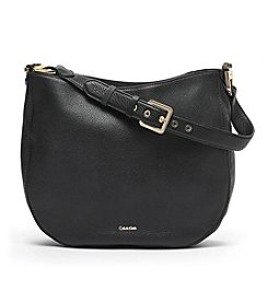 Calvin Klein Erica Pebbled Leather Hobo
