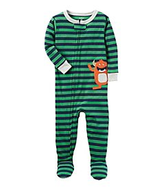 Carter's® Boys' 12 Months-5T One Piece Monster Print Cotton Pajamas