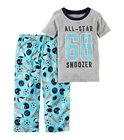 Carter's® Boys' 12 Months-5T 2 Piece All Star Pajama Set