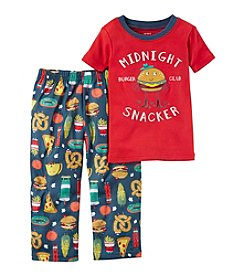 Carter's® Boys' 12 Months-5T 2 Piece Midnight Snacker Pajama Set