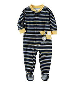 Carter's® Boys' 12 Months-5T One Piece Striped Cotton Pajamas