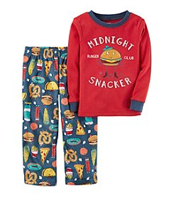 Carter's Boys' 12M-4 2 Piece Midnight Snacker Pajama Set