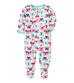 Carter's® Girls' 12M-24M Multi Butterfly One Piece Cotton Pajamas